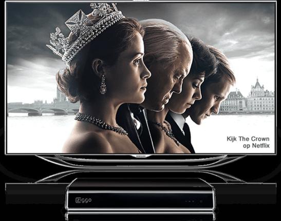 Netflix bij interactieve tv abonnementen