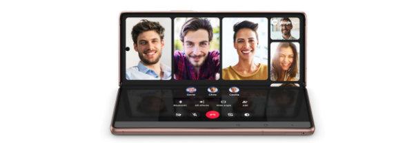 Galaxy Z Fold 2 Flex modus