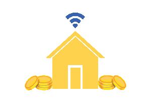 Besparen op vaste lasten internet