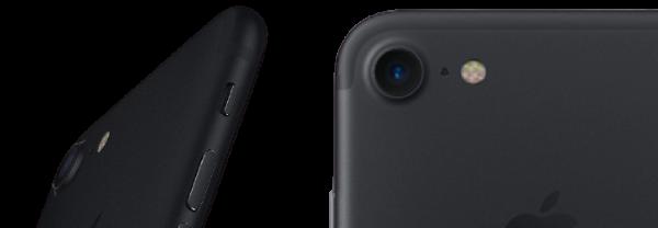 IPhone 7 camera closeup