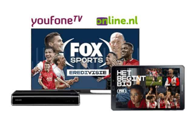 internet en tv met Fox Sports
