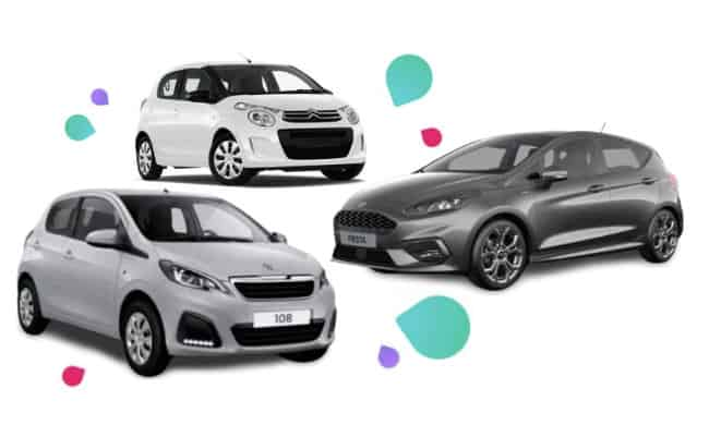 goedkoopste private lease auto