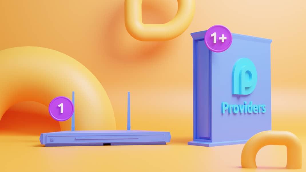 modem router bij je internet abonnement