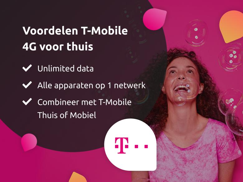 4G thuis voordelen van T-Mobile