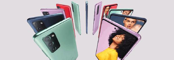 Samsung Galaxy S20 FE kleuren