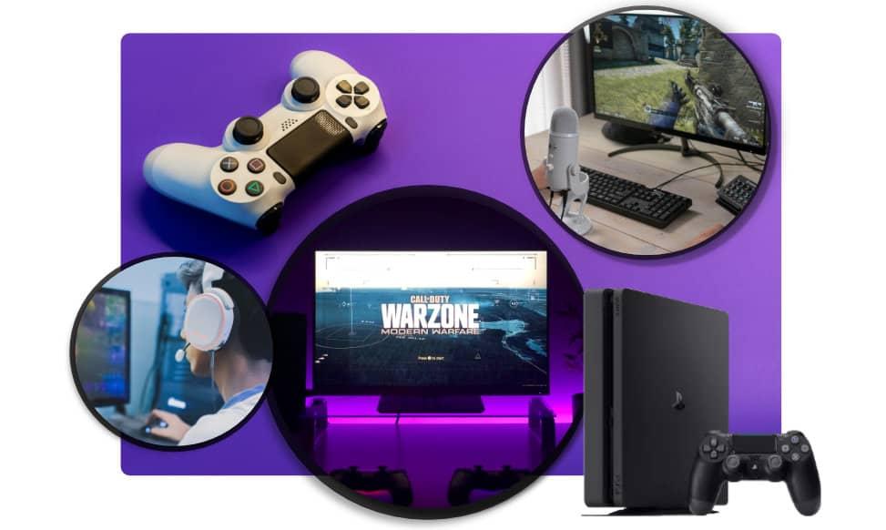 internetsnelheid gamen
